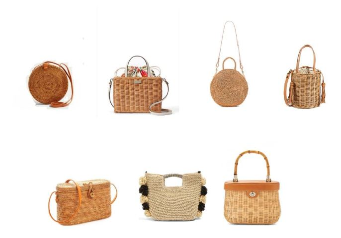 Wicker Bag Round Up