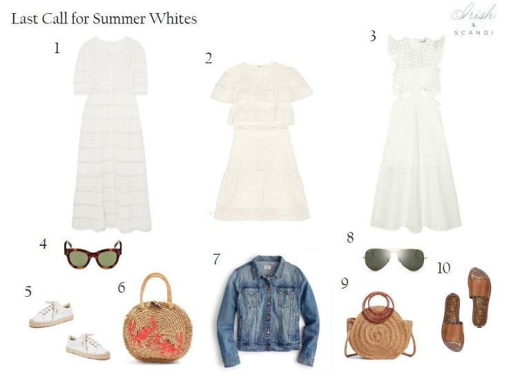 Last Call for Summer Whites