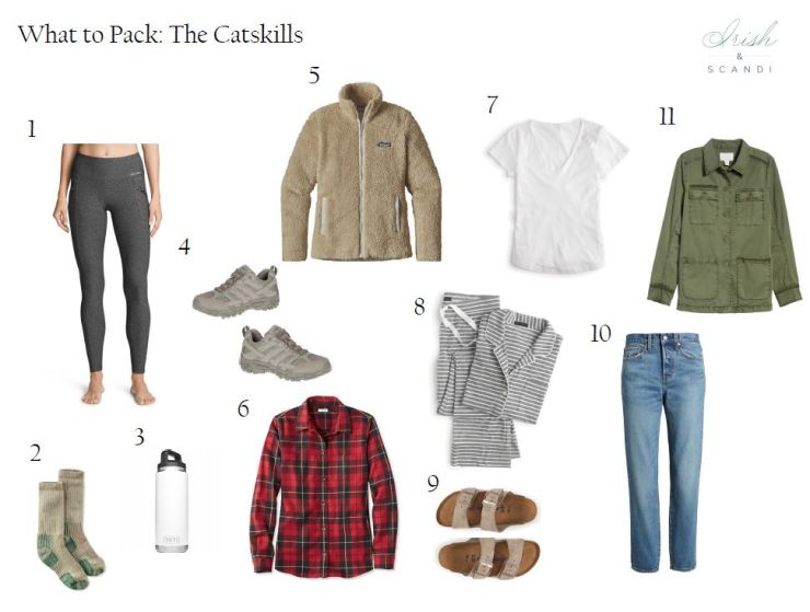 what to pack the catskills